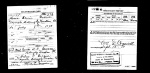 Hosea Greene WWI Registration Card